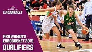 Hungary v Lithuania - Full Game - FIBA Women's EuroBasket 2019 Qualifiers