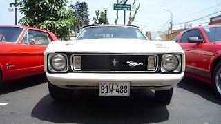 Autos Clásicos Ford Mustang en Lima Perú 15-12-2013 Pueblo Libre