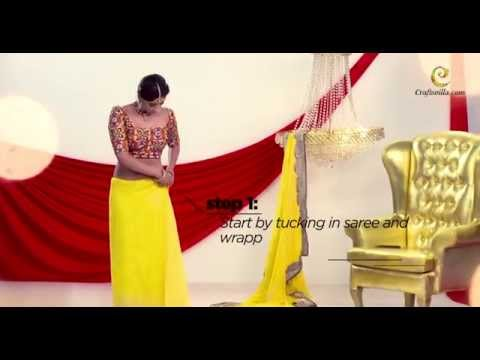Xxx Mp4 How To Drape Gujarati Style Saree By Craftsvilla Com 3gp Sex