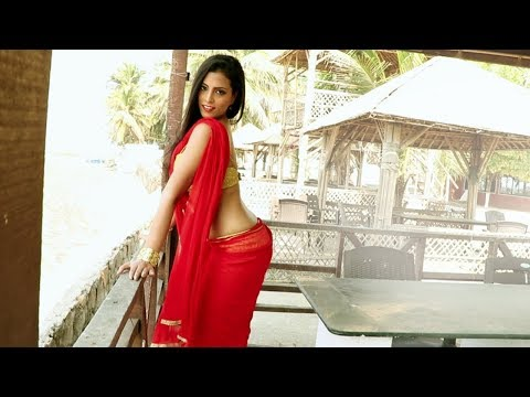 Photoshoot Poses For Girls In Saree # Model Photoshoot Outdoor # Red Saree Photoshoot #Miya
