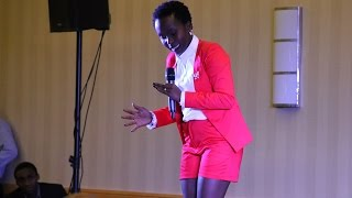 Anne Kansiime Comedy in Maryland, USA, 2015 ~ Part 2