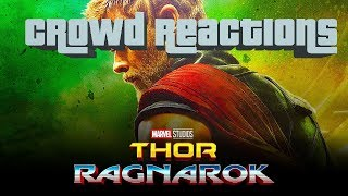 Thor: Ragnarok - FUNNY MOMENTS - Audience Reaction (Spoilers)