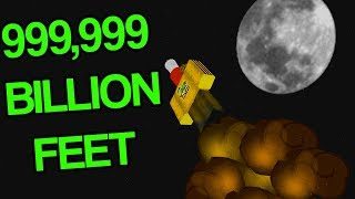 ROBLOX ROCKET SIMULATOR *999,999 BILLION FEET UP!*