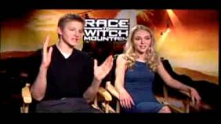 Race to Witch Mountain - AnnaSophia Robb and Alexander Ludwig Interview