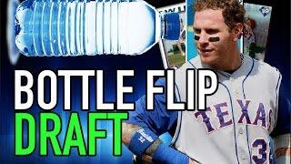 THE SECOND BOTTLE FLIP DRAFT!!! MLB THE SHOW 16 BATTLE ROYALE