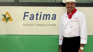 Kitchen Staff training at Fatima Fertilizer Company Ltd  Pakistan