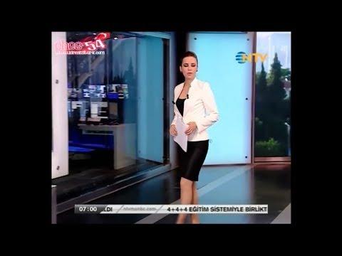 Burcu Kaya Koç Mini Etekli Sabah Haberleri NTV