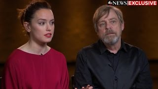 What Mark Hamill, Daisy Ridley say new