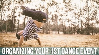 How To Organize Your 1st Dance Event | Planning