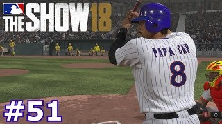 PLAYING CAPTAIN AMERICA AND PAPA CAP | MLB The Show 18 | Diamond Dynasty # 51