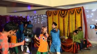 Tumi ashe pashe thakle -Gaye holud dance 2016