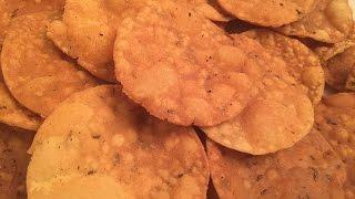 How to made papdi for chaat / Crispy Papdi   Recipe  हाउ तो मेड पपडी फॉर चाट / क्रिस्पी पापड़ी