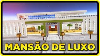 Minecraft PE 0.14.0: A MANSÃO AUTOMÁTICA MAIS LUXUOSA DO MUNDO !