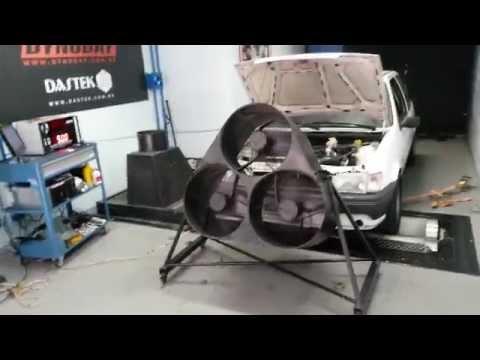 Fiesta 2.0 no dinamômetro - 179.3 cv