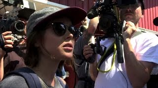 Ellen Page confronts Ted Cruz over LGBT rights