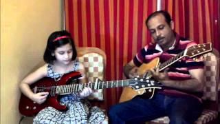 Lakdi Ki Kathi on Guitar by Misti