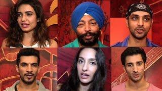 Jhalak Dikhlaja mey kaun hai sabse HOT | Catch Sidhant, Arjun,Shakti, Nora and others' Reply
