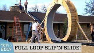 Full Loop Slip n Slide Trick   Top 25 of 2017