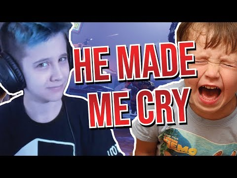 I made a kid cry in Fortnite Battle Royale