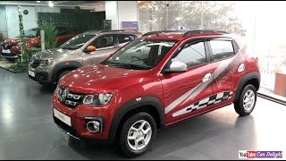 Renault Kwid 1.0 RXT Model Review Interior and Exterior