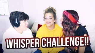 WHISPER CHALLENGE!! ft. Mario Selman & Arii