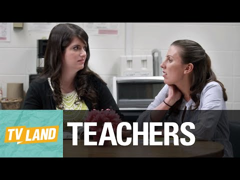 Xxx Mp4 Teachers Lounge Hot Sexy Young Teacher Clique Teachers On TV Land 3gp Sex