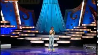 Super Singer Junior 3 Aajeeth She Stole My Heart from Singham