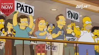 """(VTC14)_Phim """"The Simpsons"""" dự báo Trump là tổng thống từ 16 năm trước"""