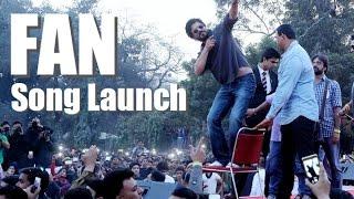 Jabra FAN Song Launch Shah Rukh Khan performs at HansRaj College FAN Anthem SRK