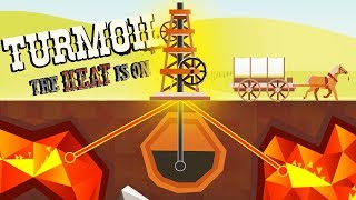 Pumping MAGMA and a NEW ZONE! - Turmoil The Heat is On Gameplay