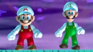 New Super Mario Bros. U - Coin Battle (All Coin Courses)
