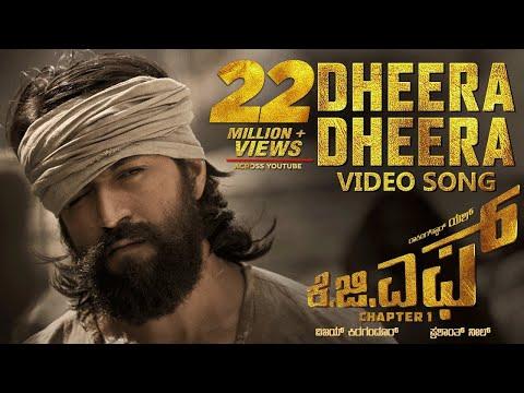 Xxx Mp4 Dheera Dheera Full Video Song KGF Kannada Movie Yash Prashanth Neel Hombale Kgf Video Songs 3gp Sex