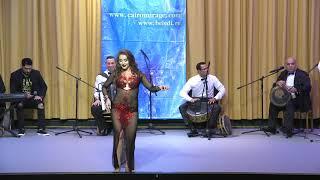 راقصة انستازيا مهرجان في روسيا  Anastasia Biserova