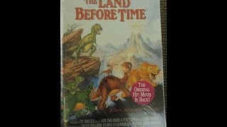 Opening To The Land Before Time 1996 VHS