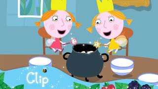Ben and Holly's Little Kingdom - Daisy and Poppy make breakfast (clip)