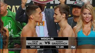 The Full Pacquiao-Bradley Weigh-in Show