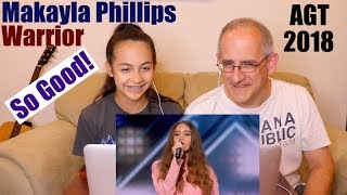 Makayla Phillips -15-Year-Old Receives Golden Buzzer For Warrior - America