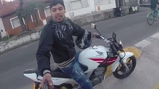 Attempted robbery at gunpoint caught on GoPro!!!
