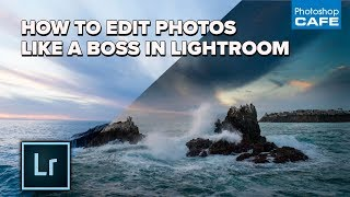 How to EDIT PHOTOS LIKE A BOSS in LIGHTROOM. My FULL workflow