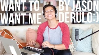 want to want me by jason derulo  alex aiono cover
