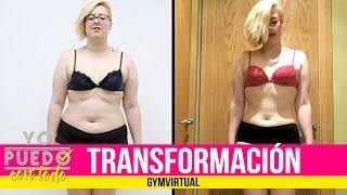 Transformación Gym Virtual | Antes y después de Judit 15 kg menos