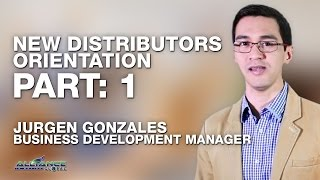 AIM GLOBAL - Jurgen Gonzales New Distributor Orientation NDO Part 1 of 6