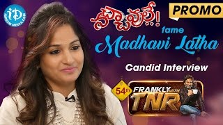 Actress Madhavi Latha Exclusive Interview - Promo | Frankly With TNR #54 |Talking Movies with iDream