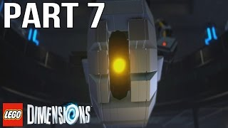 LEGO Dimensions Walkthrough Part 7 - Portal 2 (Gameplay Let's Play)