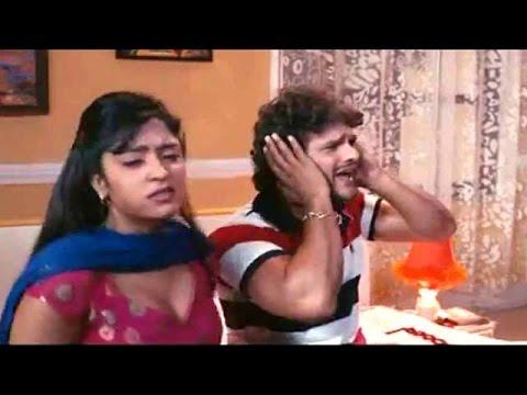 Fans Gaini - फंस गाइनी - Uncut Scene - Bhojpuri Comedy Scene - Khesari Lal Yadav
