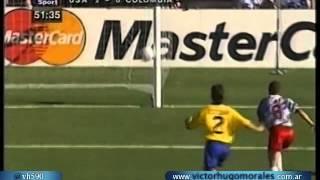 Estados Unidos 2 Colombia 1 (Relato Jose Gabriel) Mundial 1994 Los goles