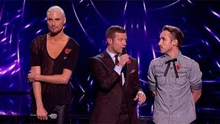 The Result - Live Week 5 - The X Factor UK 2012