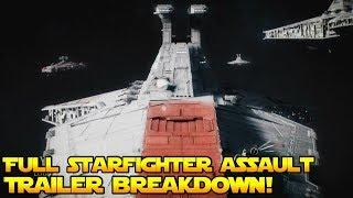 OFFICIAL Starfighter Assault Trailer Breakdown
