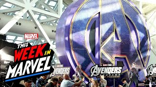 Marvel Studios' Avengers: Endgame World Premiere with This Week in Marvel