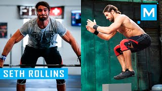 Seth Rollins Crossfit Training Workout for Wrestling   Muscle Madness